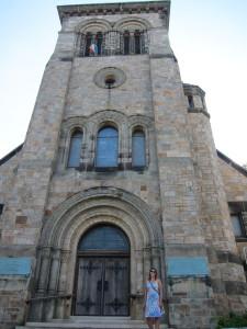 An old church.