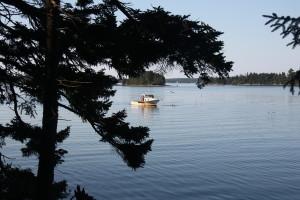 I spy a lobster boat!