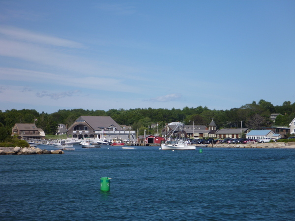 Entering Kennebunkport