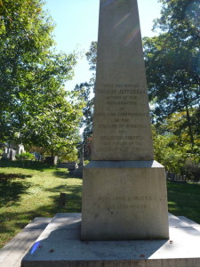 Thomas Jefferson's grave is onsite as well.