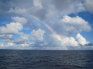 Lucky rainbow!