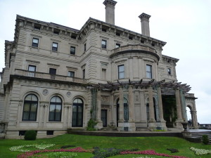 One of the gilded age mansions.