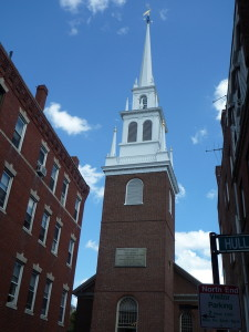 The bell that Paul Revere rang...One if by land, two if by sea!